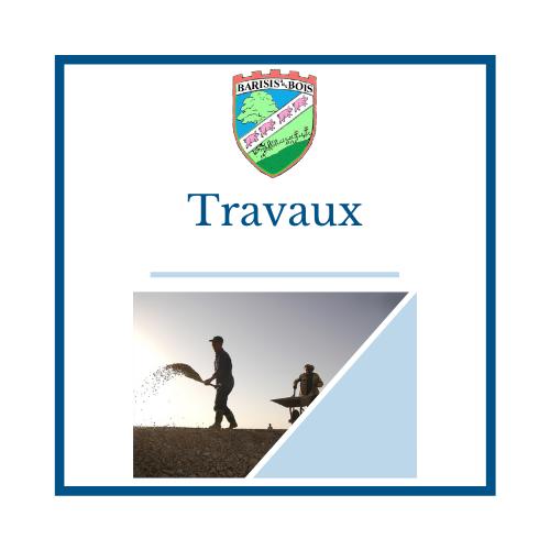Travaux - Mairie de Barisis Aux Bois