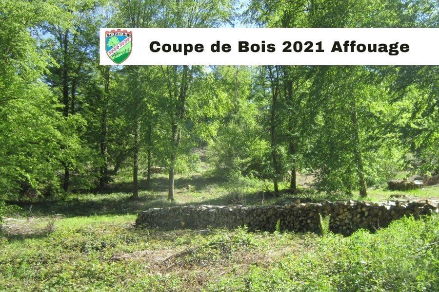 Affouage Barisis aux Bois
