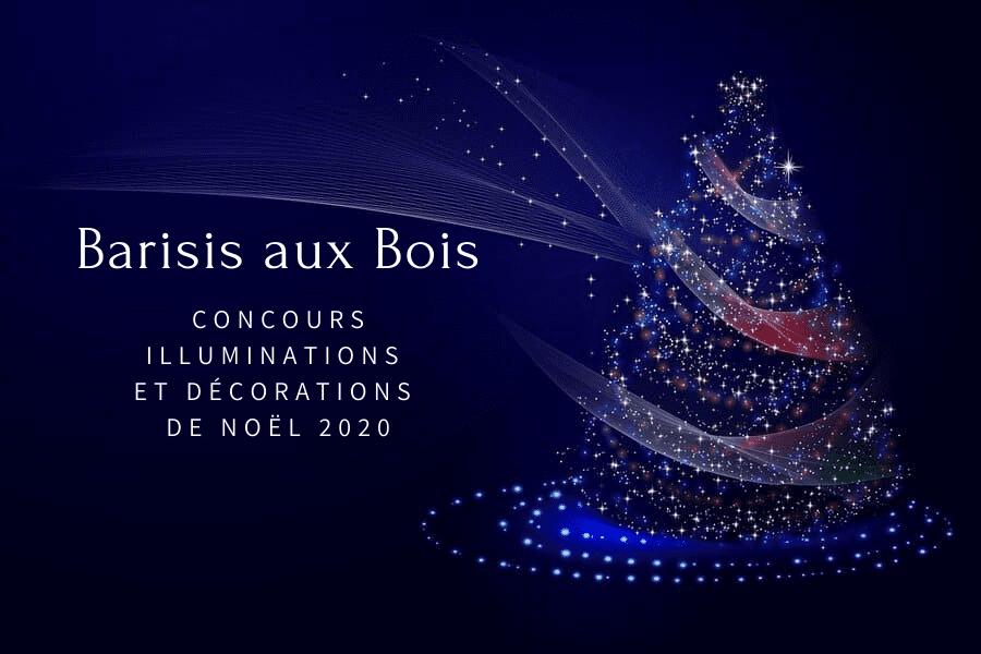 Concours Illuminations et Décorations de Noël 2020 - Commune de Barisis Aux Bois
