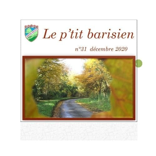 Le ptit Barisien décembre 2020 N°31 - Commune de Barisis aux Bois