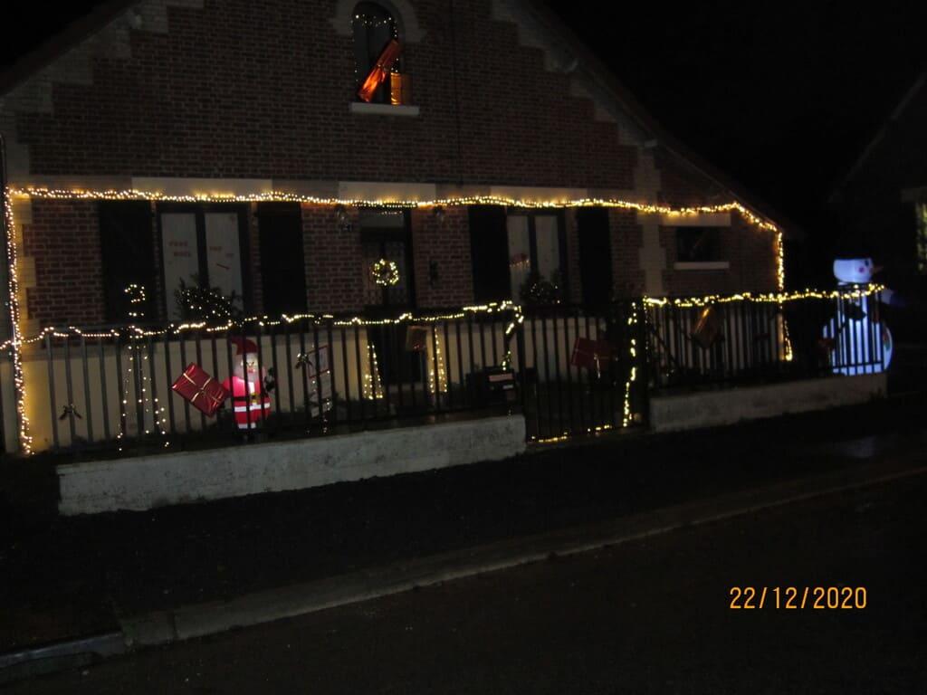2ème concours illuminations décoration noel - Commune de Barisis aux Bois