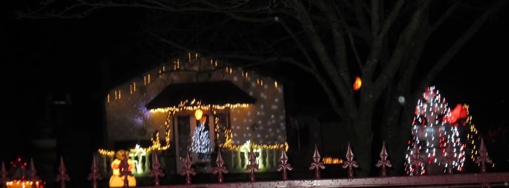 3ème concours illuminations décoration noel - Commune de Barisis aux Bois
