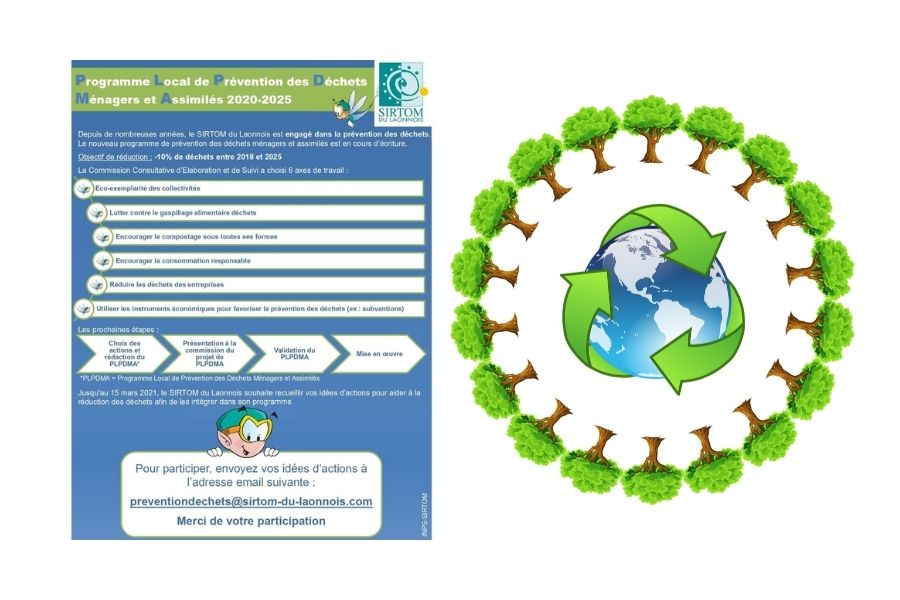 programme de prévention des déchets - Mairie de Barisis Aux Bois