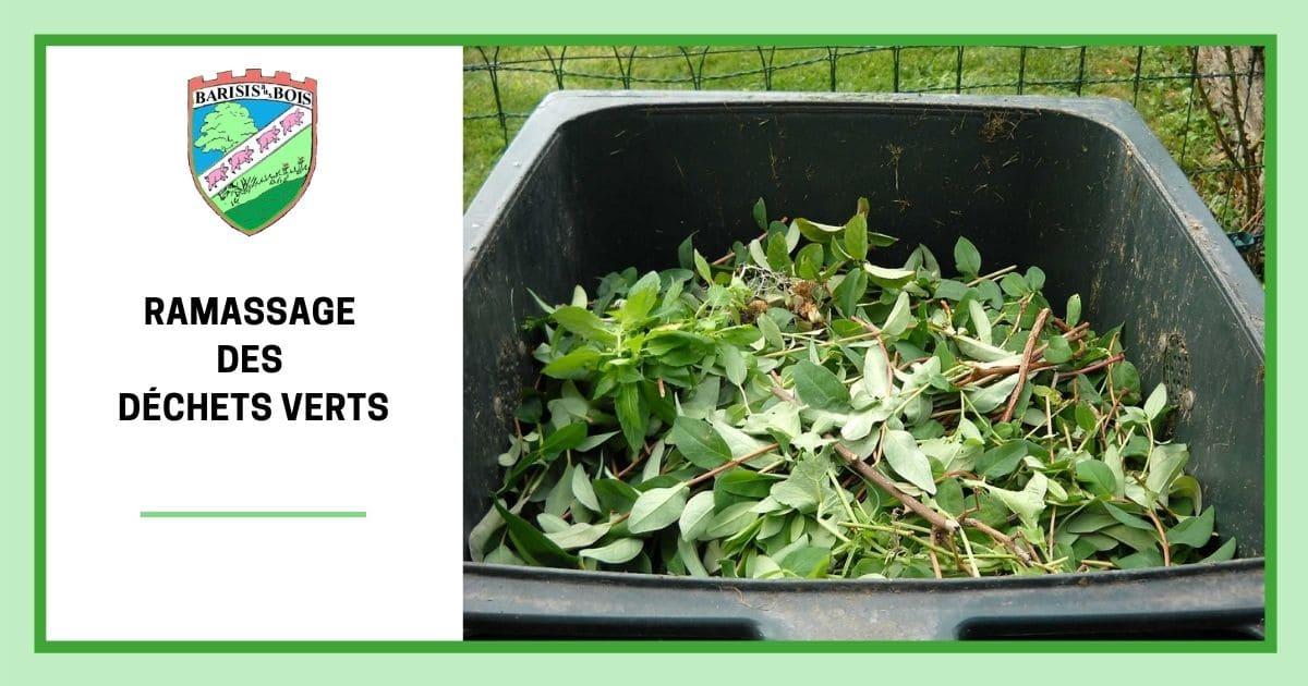 Ramassage des déchets verts FB - Commune de Barisis aux Bois